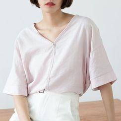 Sens Collection - Dip Back V-Neck T-Shirt