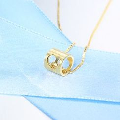 Zundiao - Sterling Silver Cutout Heart Pendant