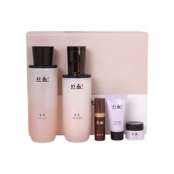 HANYUL - Essential Skin Set: Skin 150ml + Emulsion 125ml + Optimizing Serum 5ml + Seo Ri Tae Cream 5ml + Seo Ri Tae Sleeping Pack 15ml