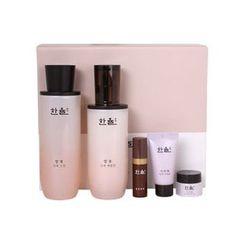 HANYUL - Essential Skin Set: Skin 150ml + Emulsion 125ml + Optimizing Serum 5ml + Seo Ri Tae Cream 5ml + Seo Ri Tae Sleeping Pack 15ml
