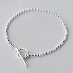 A'ROCH - S925 Silver Ball Bracelet