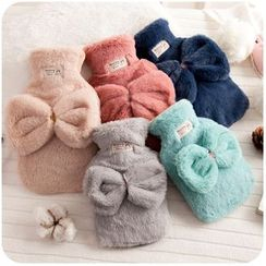 Momoi - Bow Fleece Warm Water Bag