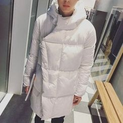 Besto - Hooded Long Padded Coat