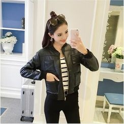 ever after - Faux Leather Jacket