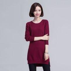 Senbel - Long Knit Top