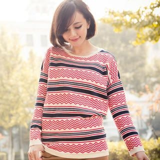 CatWorld - Patterned Knit Top