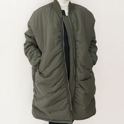 DANI LOVE - Shirred Military Parka