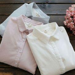 YOYO - Long-Sleeve Fleece-Lined Shirt