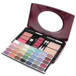 Cameleon - MakeUp Kit G1688 (34xE/S, 3xBlusher, 2xPressed Pwd, 1xMascara, 4xLipgloss, 1xE/Pen, 4xApplicator)