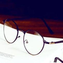 UnaHome Glasses - 复古圆形眼镜