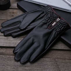 RGLT Scarves - Faux-Leather Gloves
