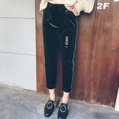 LRZ - Velvet Harem Pants