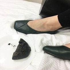Sinbounboun - Faux Leather Flats