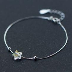 A'ROCH - 925 Sterling Silver Floral Bracelet