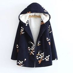 Musume - Embroidered Toggle Coat