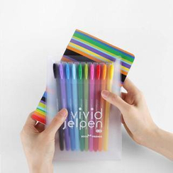 Full House - Bookzzi - Color Pen + Notebook Set (Small)