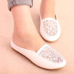 IYATO - Paneled Backless Flats