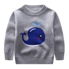 Endymion - Kids Whale Print Sweater