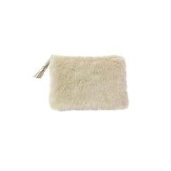 DABAGIRL - Zipped Faux-Fur Pouch