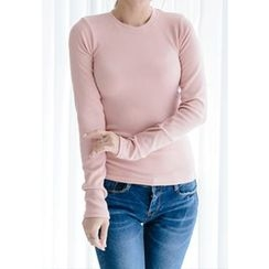 REDOPIN - Round-Neck Plain Top