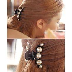 Miss21 Korea - Faux Pearl Hair Clamp