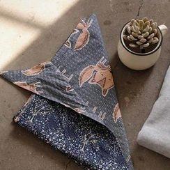 GOROKE - 兩穿圖案圍巾