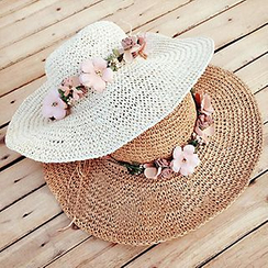 Pompabee - 花朵太阳帽
