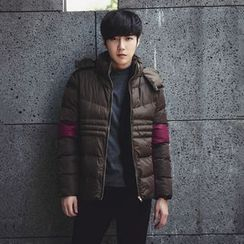 MRCYC - Hooded Panel Padded Jacket