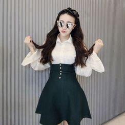 Moonshine - Knit Jumper Skirt