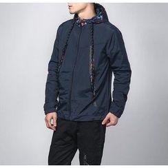 Bigboy - Print Panel Hooded Jacket