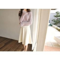 Hello sweety - A-Line Knit Skirt