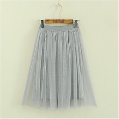 Storyland - Mesh Long Skirt