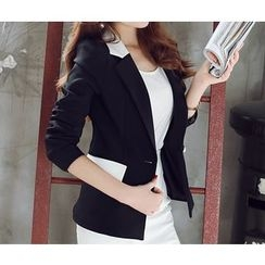 YUMU - Single Button Blazer