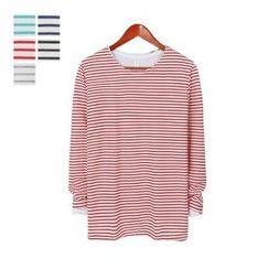 DANGOON - Couple Striped T-Shirt