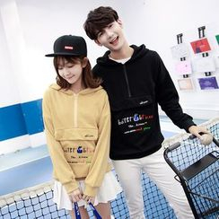 CASSY - Hooded Couple Matching Pullover