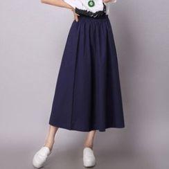 缤纷色彩 - 长款半裙