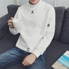 JUN.LEE - Lettering Sweatshirt