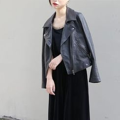 TAILO - Faux-Leather Jacket