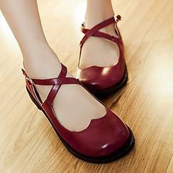 Sidewalk - 多帶平跟鞋