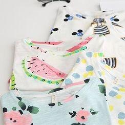 Meimei - Print Short-Sleeve T-Shirt