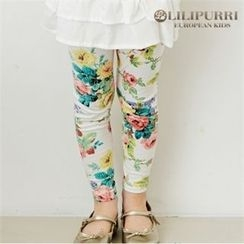 LILIPURRI - Girls Rosette Leggings