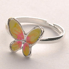 Fit-to-Kill - Butterfly Ring - Silver