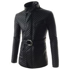 TheLees - Quilted Zip-Up Jacket