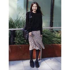 maybe-baby - Pattern Long Skirt