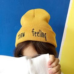 FROME - Embroidered Beanie