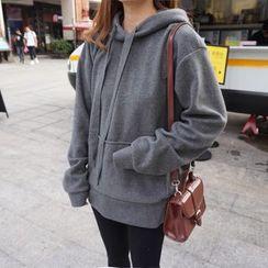 Eva Fashion - 内加绒抽绳卫衣