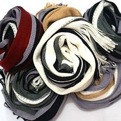 Rita Zita - 条纹针织围巾