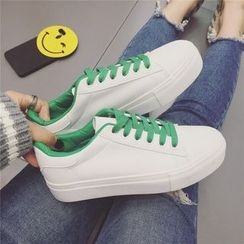 kokoin - Two-Tone Sneakers