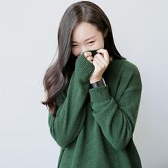 CLICK - V-Neck Knit Sweater