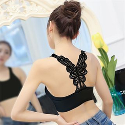 Meigo - Butterfly Back Bra Top